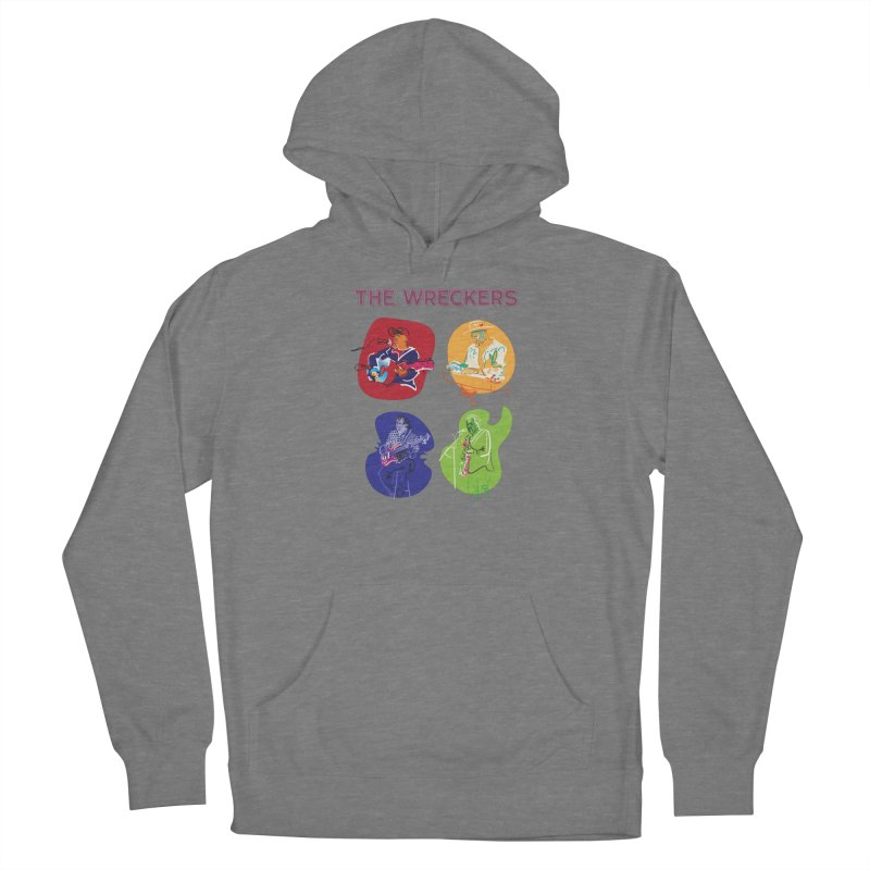 The Wreckers Rememorabilia Women's Pullover Hoody by Blue Guitar Store