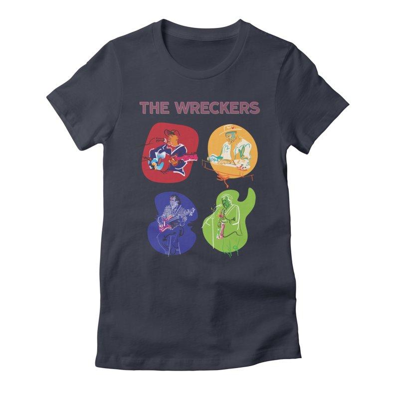 The Wreckers Rememorabilia Women's T-Shirt by Blue Guitar Store
