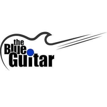 Blue Guitar Store Logo
