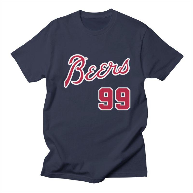 99Beers - Atlanta Blue Men's T-Shirt by bluelefant's Artist Shop