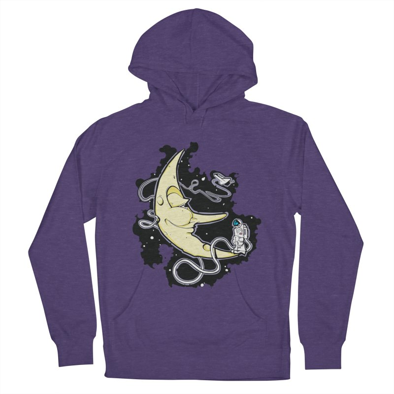 Fly me to tee moon Women's Pullover Hoody by bluesdog's Shop