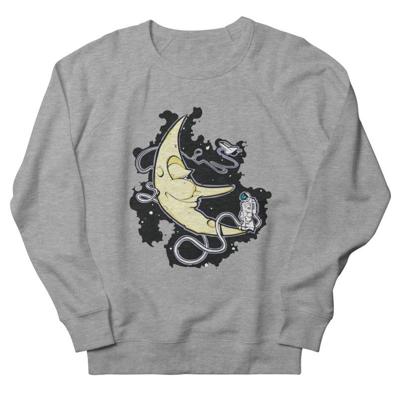 Fly me to tee moon Women's French Terry Sweatshirt by bluesdog's Shop