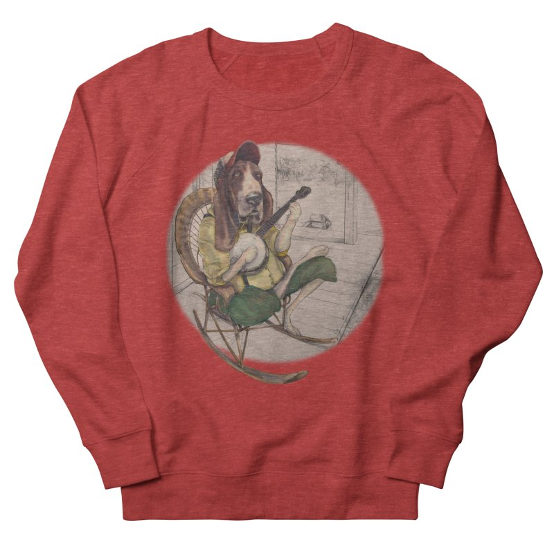 Bluegrass Men's French Terry Sweatshirt by bluesdog's Shop