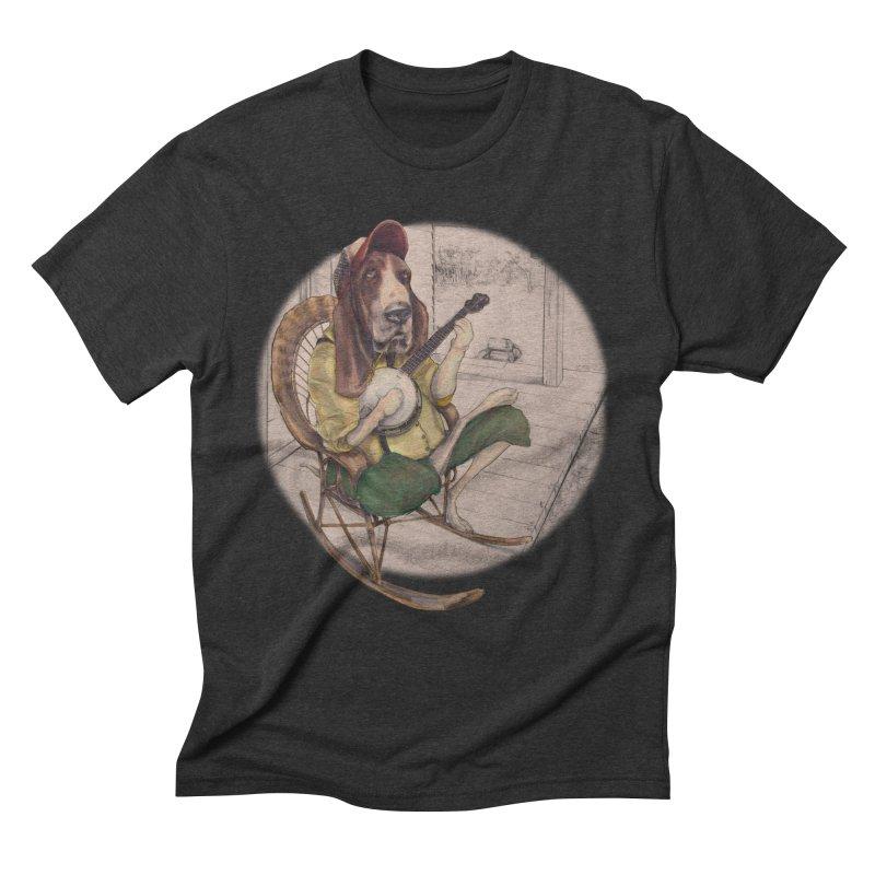 Bluegrass Men's Triblend T-Shirt by bluesdog's Shop