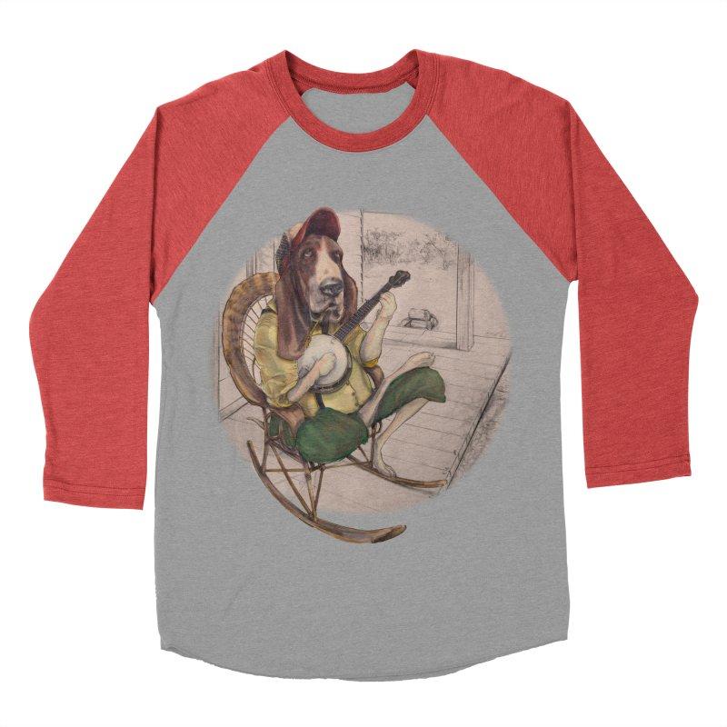 Bluegrass Women's Baseball Triblend T-Shirt by bluesdog's Shop