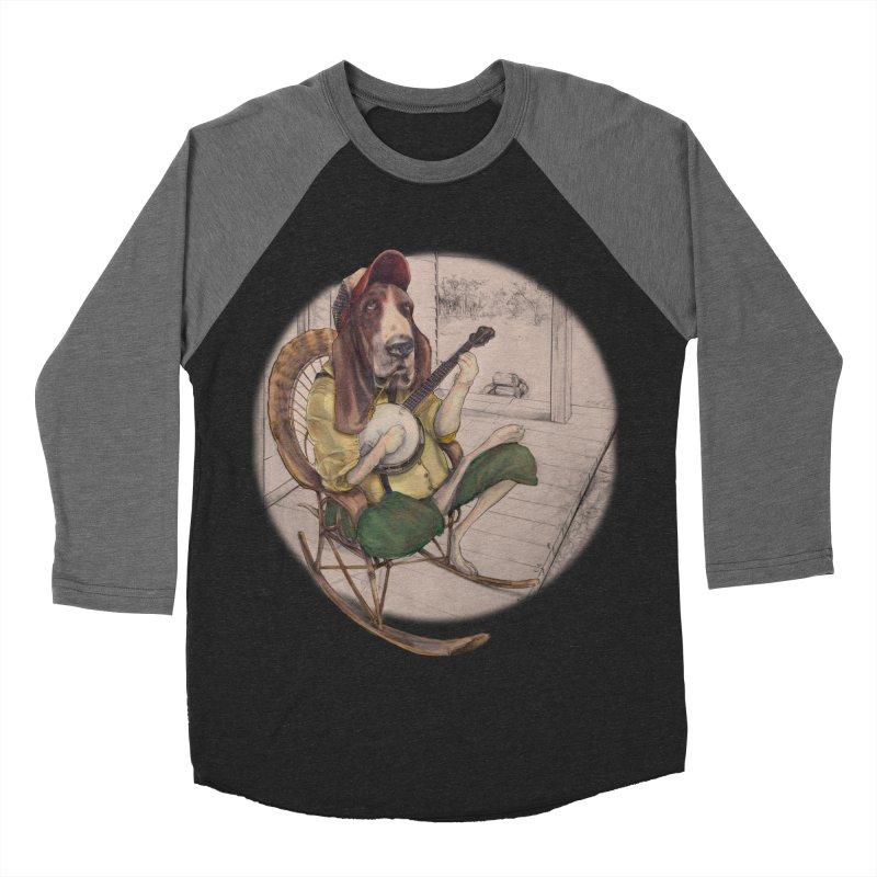 Bluegrass Women's Baseball Triblend Longsleeve T-Shirt by bluesdog's Shop