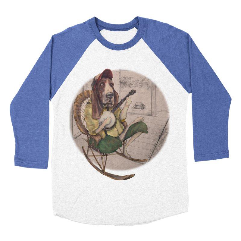 Bluegrass Men's Baseball Triblend T-Shirt by bluesdog's Shop