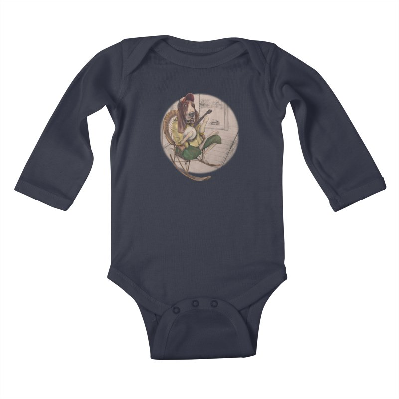 Bluegrass Kids Baby Longsleeve Bodysuit by bluesdog's Shop