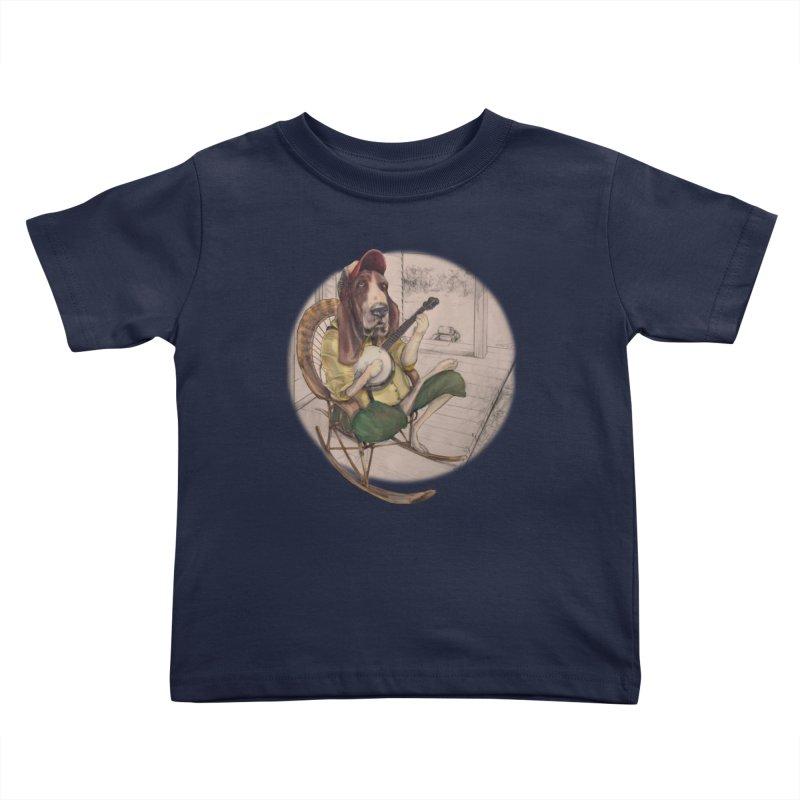 Bluegrass Kids Toddler T-Shirt by bluesdog's Shop