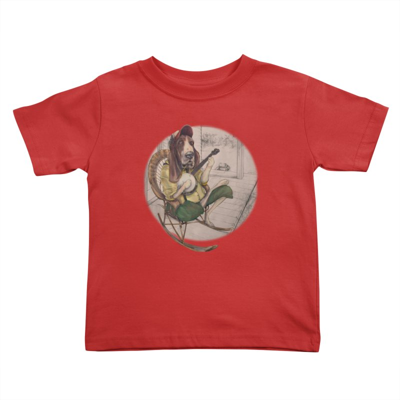 Bluegrass Kids Toddler T-Shirt by bluesdog's Shop