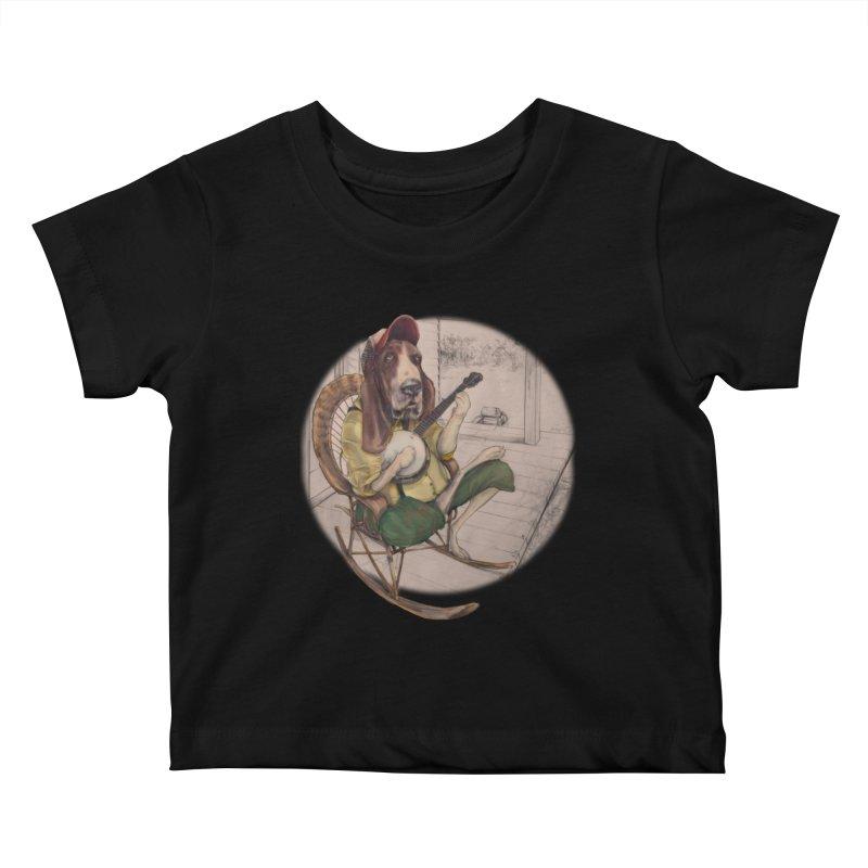 Bluegrass Kids Baby T-Shirt by bluesdog's Shop