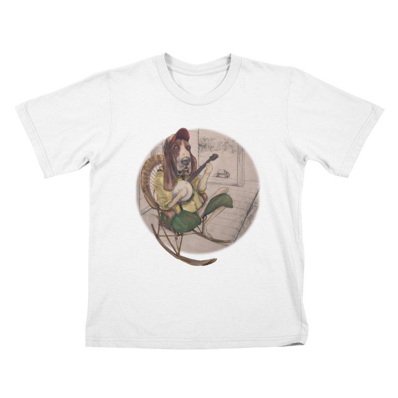 Bluegrass Kids T-Shirt by bluesdog's Shop