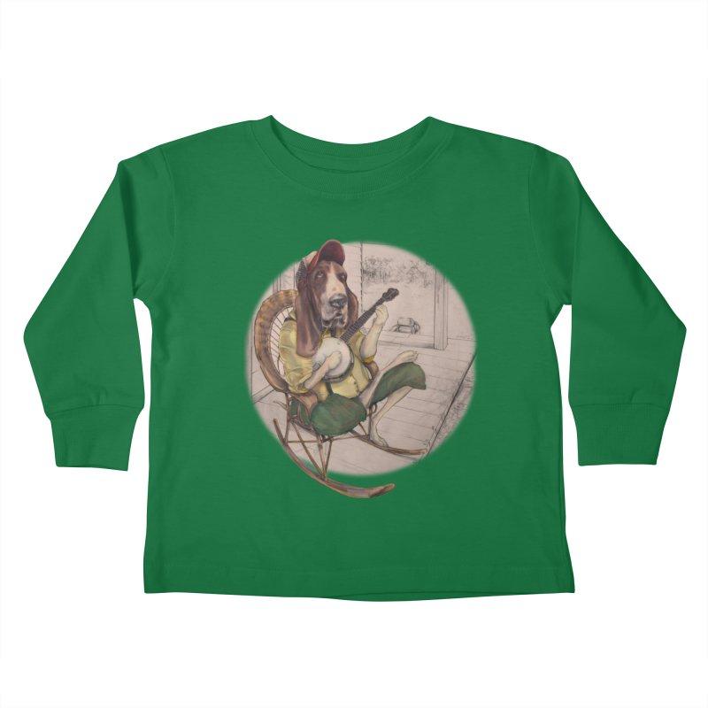 Bluegrass Kids Toddler Longsleeve T-Shirt by bluesdog's Shop