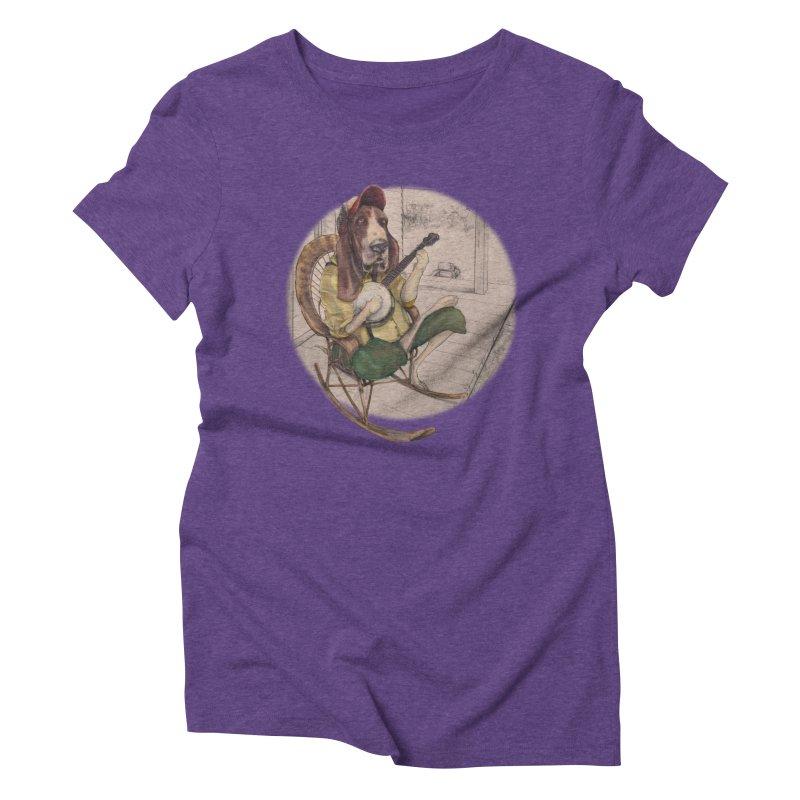 Bluegrass Women's Triblend T-Shirt by bluesdog's Shop