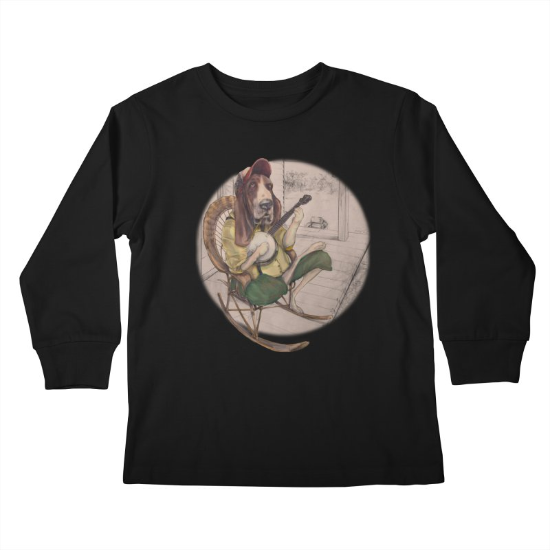 Bluegrass Kids Longsleeve T-Shirt by bluesdog's Shop