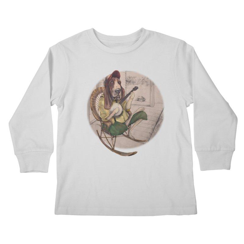 Bluegrass Kids Longsleeve T-Shirt by bluesdog's Shop