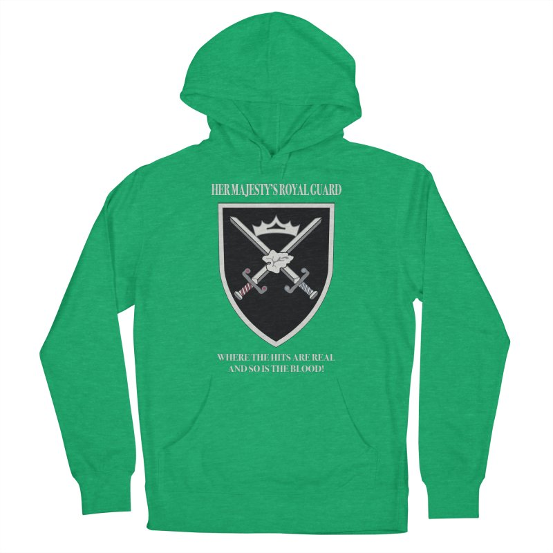 Her Majesty's Royal Guard Women's Pullover Hoody by bluetea1400's Artist Shop