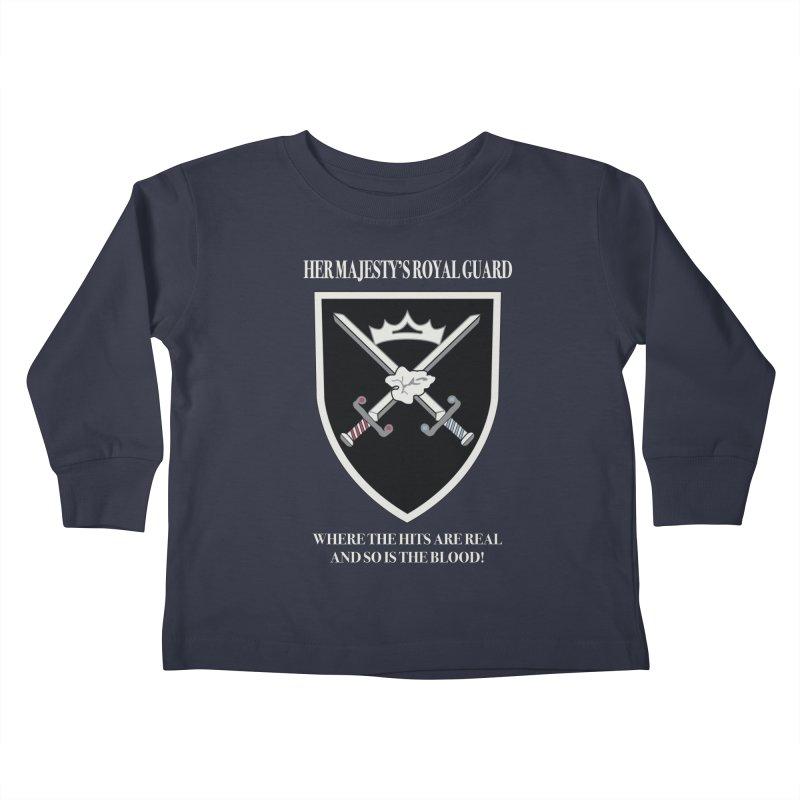 Her Majesty's Royal Guard Kids Toddler Longsleeve T-Shirt by bluetea1400's Artist Shop