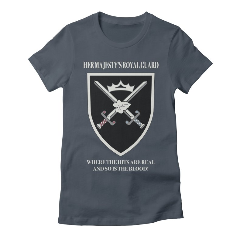 Her Majesty's Royal Guard Women's T-Shirt by bluetea1400's Artist Shop