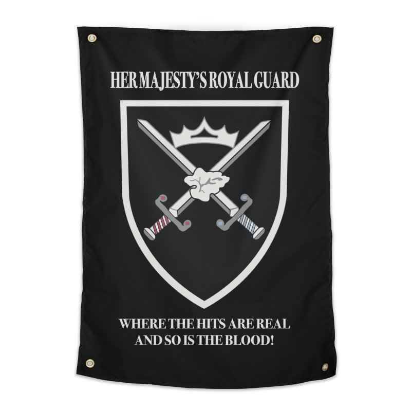 Her Majesty's Royal Guard Home Tapestry by bluetea1400's Artist Shop
