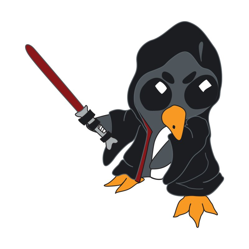Penguin Dark Side   by bluetea1400's Artist Shop