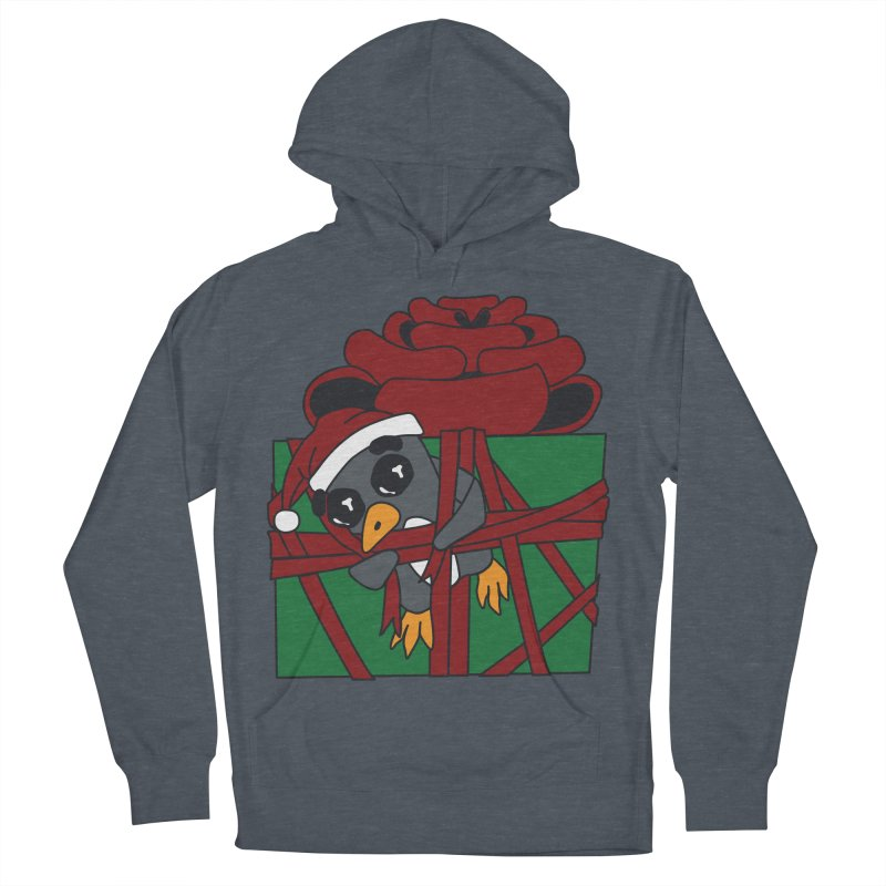 Getting Wrapped up in the Holidays Women's French Terry Pullover Hoody by bluetea1400's Artist Shop
