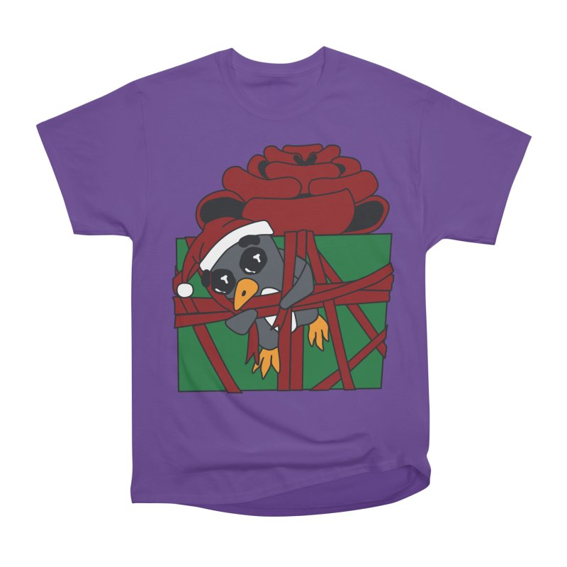 Getting Wrapped up in the Holidays Women's Heavyweight Unisex T-Shirt by bluetea1400's Artist Shop