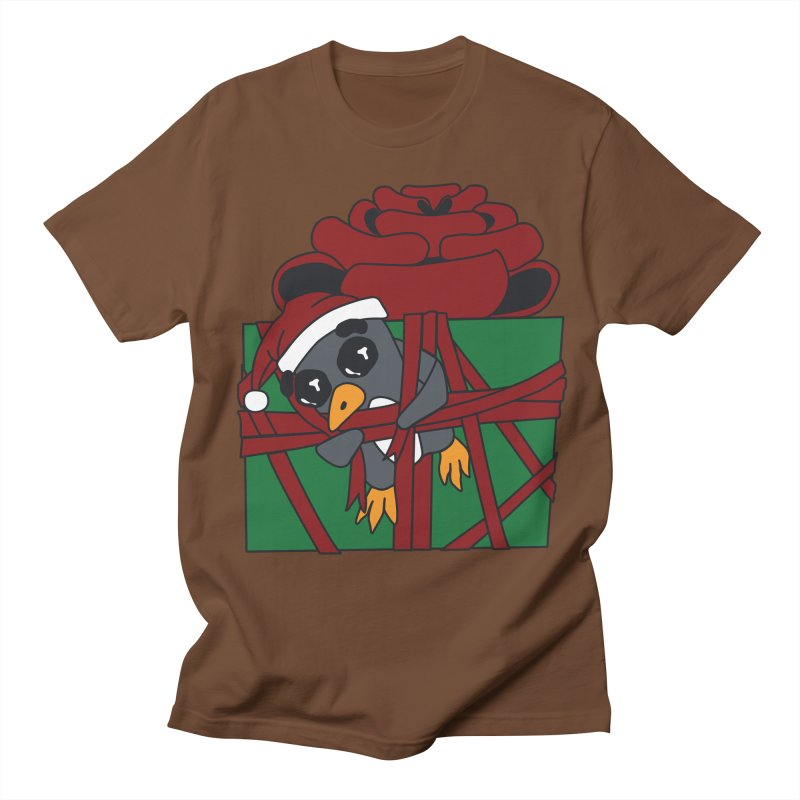 Getting Wrapped up in the Holidays Women's Regular Unisex T-Shirt by bluetea1400's Artist Shop