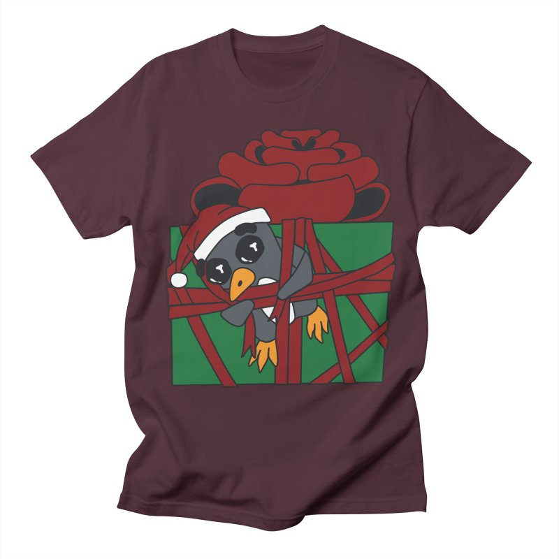 Getting Wrapped up in the Holidays Men's Regular T-Shirt by bluetea1400's Artist Shop