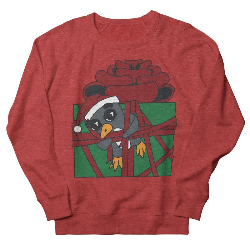 Getting Wrapped up in the Holidays Men's French Terry Sweatshirt by bluetea1400's Artist Shop