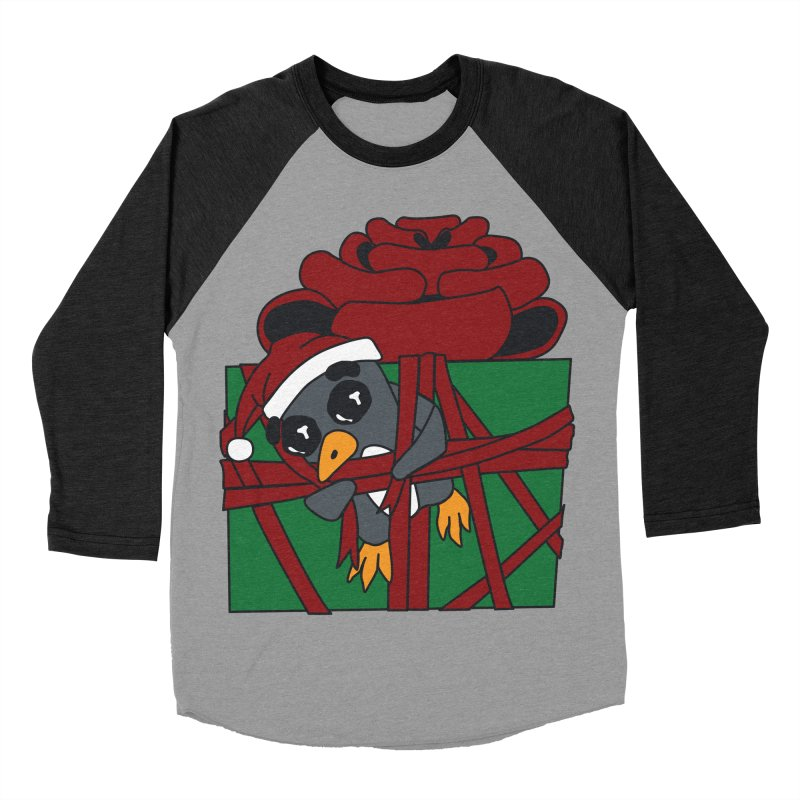 Getting Wrapped up in the Holidays Women's Baseball Triblend Longsleeve T-Shirt by bluetea1400's Artist Shop