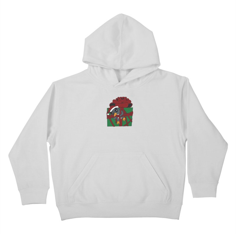 Getting Wrapped up in the Holidays Kids Pullover Hoody by bluetea1400's Artist Shop