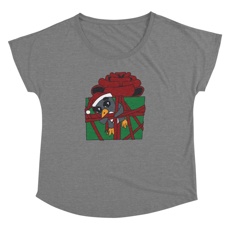 Getting Wrapped up in the Holidays Women's Dolman Scoop Neck by bluetea1400's Artist Shop