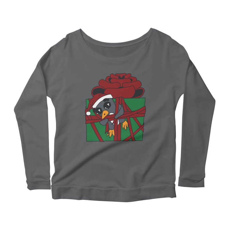 Getting Wrapped up in the Holidays Women's Longsleeve T-Shirt by bluetea1400's Artist Shop