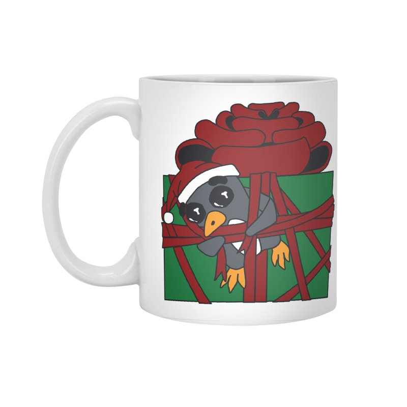 Getting Wrapped up in the Holidays Accessories Standard Mug by bluetea1400's Artist Shop