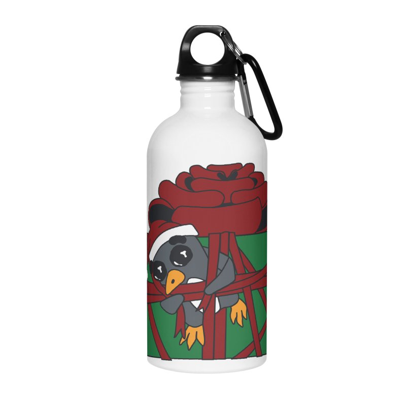 Getting Wrapped up in the Holidays Accessories Water Bottle by bluetea1400's Artist Shop