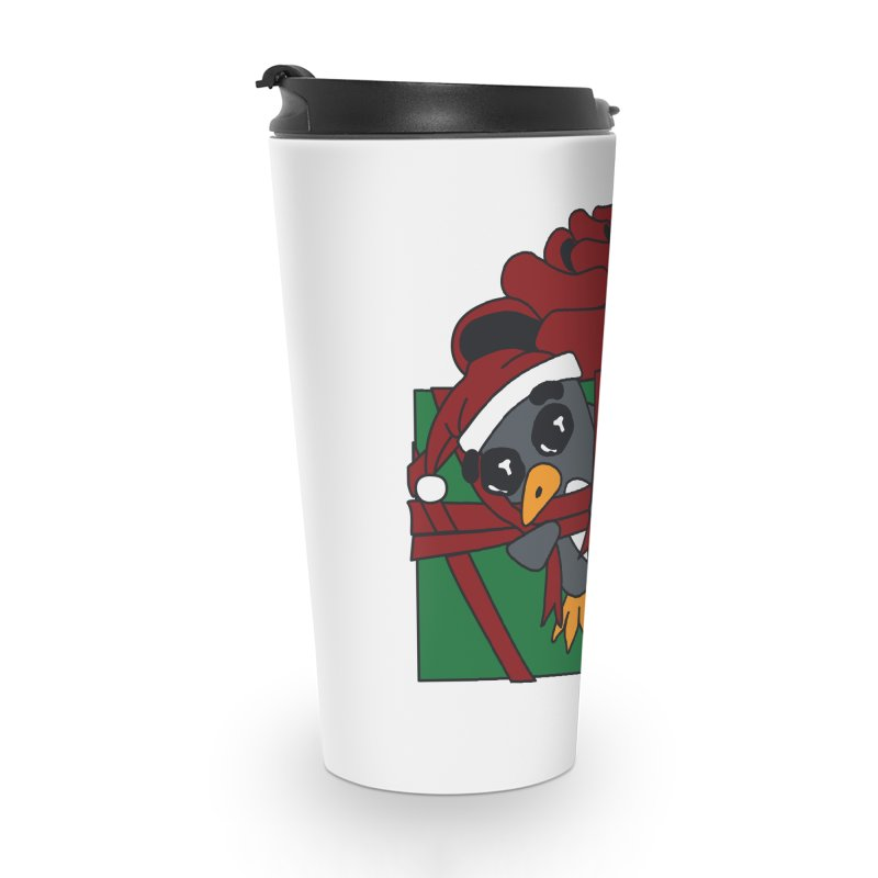 Getting Wrapped up in the Holidays Accessories Travel Mug by bluetea1400's Artist Shop