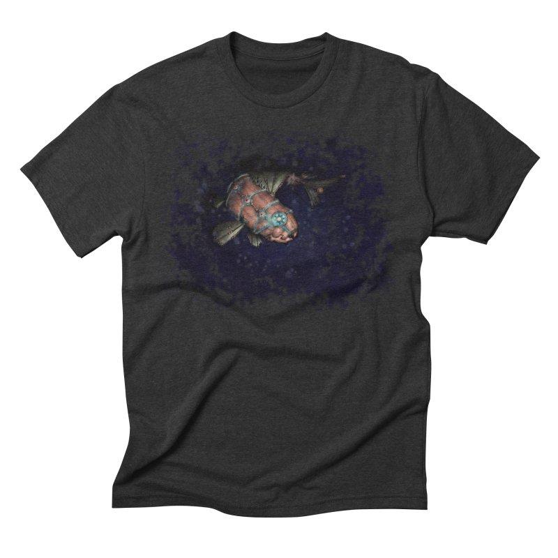 Mecha Carp Men's T-Shirt by bluetea1400's Artist Shop