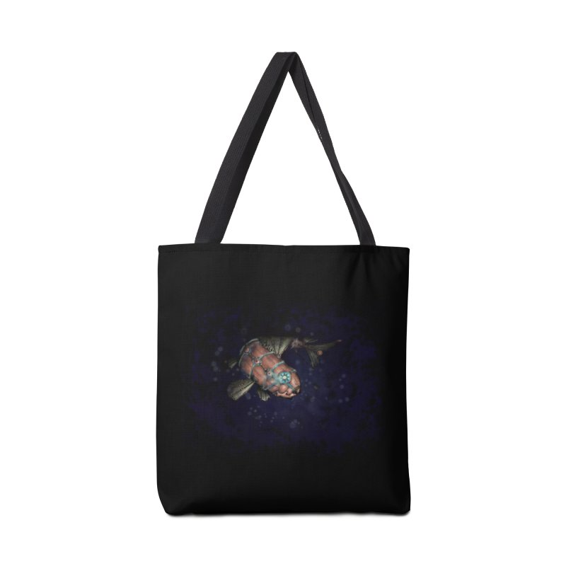 Mecha Carp Accessories Tote Bag Bag by bluetea1400's Artist Shop