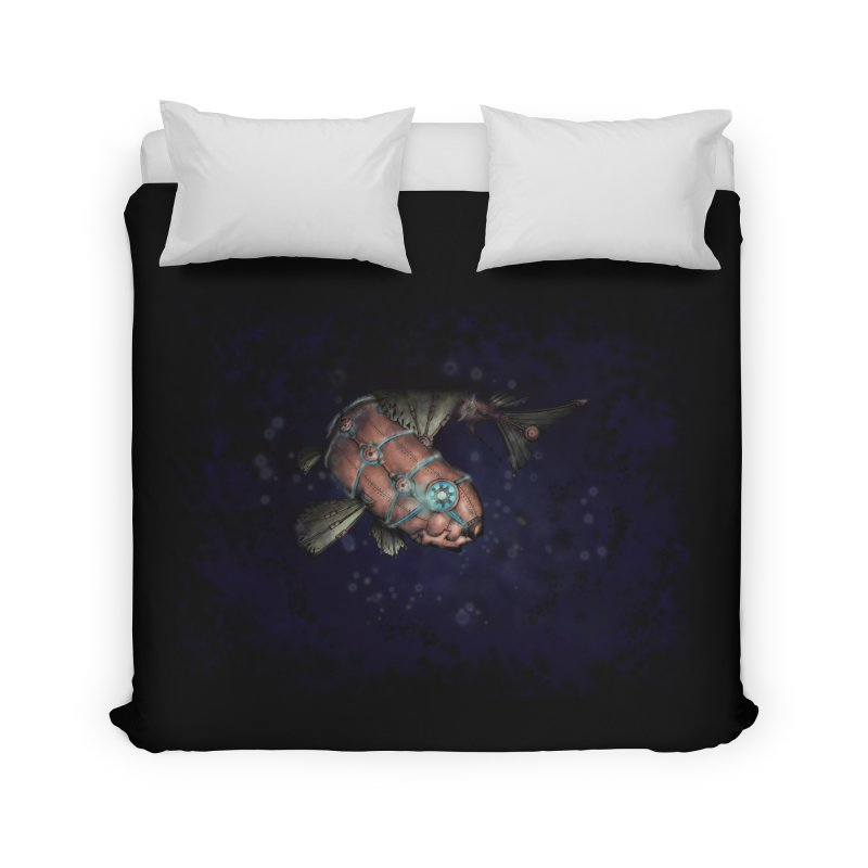 Mecha Carp Home Duvet by bluetea1400's Artist Shop