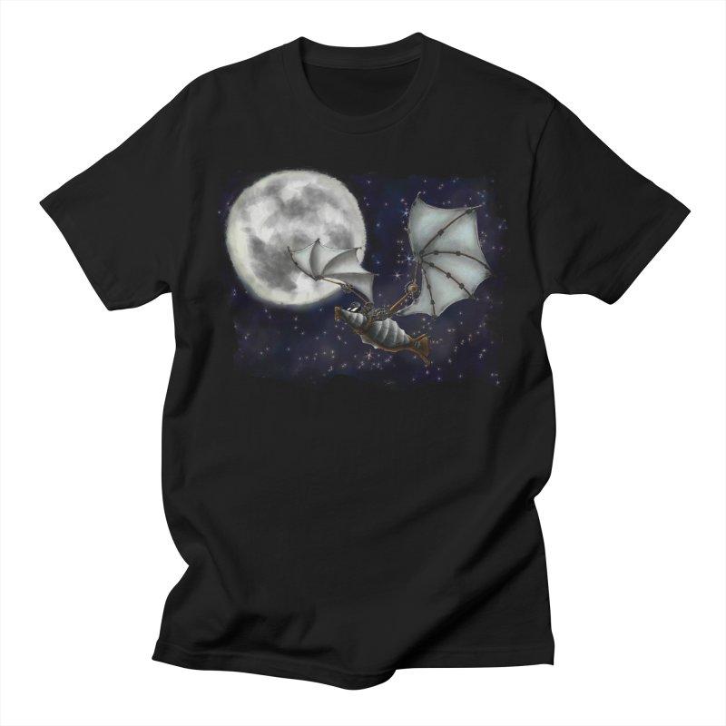 Mecha Bat Men's T-Shirt by bluetea1400's Artist Shop