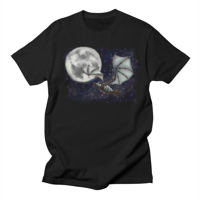 Mecha Bat Women's T-Shirt by bluetea1400's Artist Shop