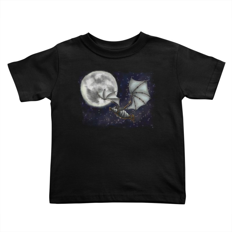 Mecha Bat Kids Toddler T-Shirt by bluetea1400's Artist Shop