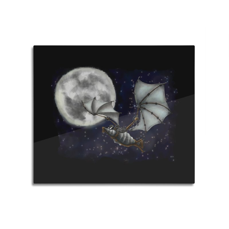 Mecha Bat Home Mounted Acrylic Print by bluetea1400's Artist Shop