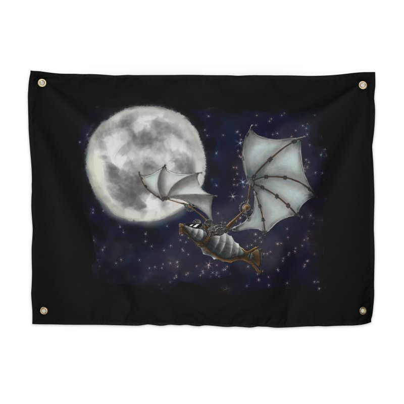 Mecha Bat Home Tapestry by bluetea1400's Artist Shop