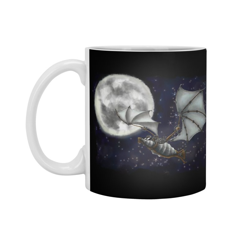 Mecha Bat Accessories Standard Mug by bluetea1400's Artist Shop