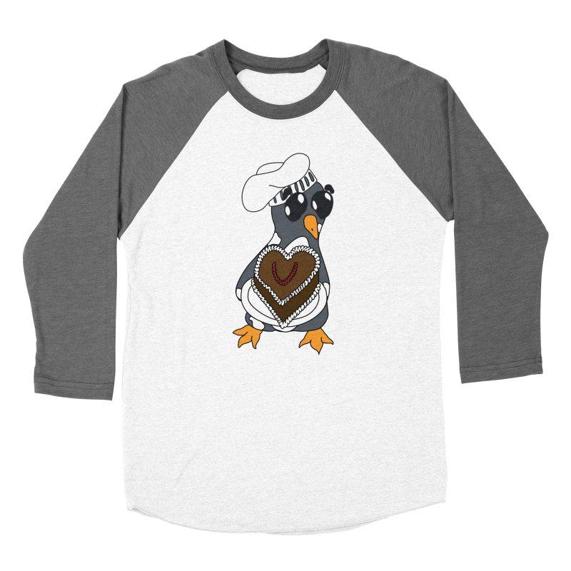 <3 U, baked Women's Longsleeve T-Shirt by bluetea1400's Artist Shop