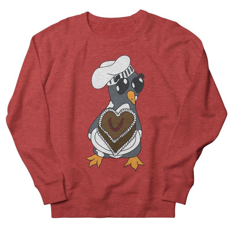 <3 U, baked Men's French Terry Sweatshirt by bluetea1400's Artist Shop
