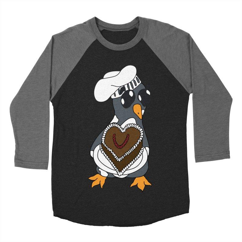 <3 U, baked Men's Baseball Triblend Longsleeve T-Shirt by bluetea1400's Artist Shop