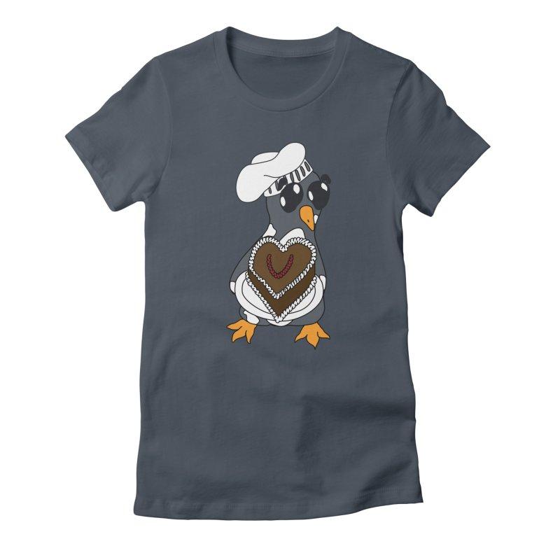<3 U, baked Women's T-Shirt by bluetea1400's Artist Shop